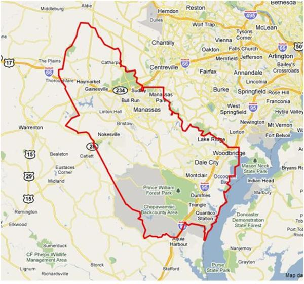 Prince William County Zip Code Map.Does Your Zip Code Matter Prince William County The Northern V